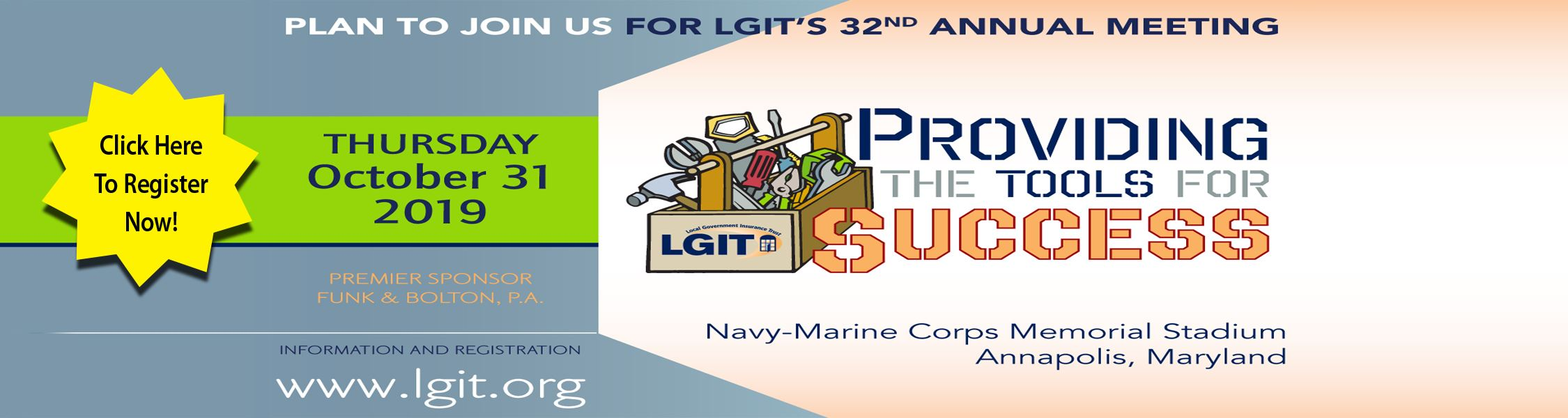 LGIT's 32nd Annual Meeting